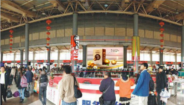 南宁琅东车站LED广告