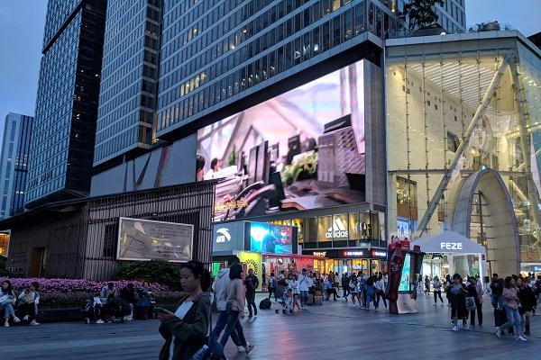 春熙路商圈廣告位